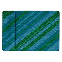 Stripes Course Texture Background Samsung Galaxy Tab 10 1  P7500 Flip Case