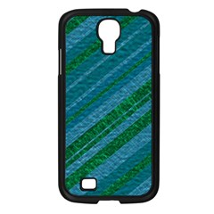 Stripes Course Texture Background Samsung Galaxy S4 I9500/ I9505 Case (black)