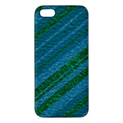 Stripes Course Texture Background iPhone 5S/ SE Premium Hardshell Case