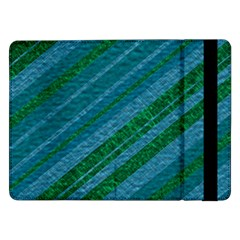 Stripes Course Texture Background Samsung Galaxy Tab Pro 12 2  Flip Case