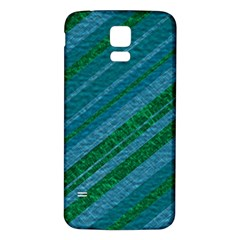 Stripes Course Texture Background Samsung Galaxy S5 Back Case (White)
