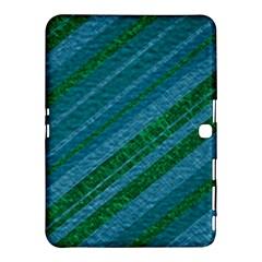 Stripes Course Texture Background Samsung Galaxy Tab 4 (10.1 ) Hardshell Case