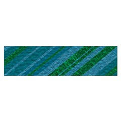 Stripes Course Texture Background Satin Scarf (Oblong)