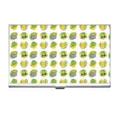 St Patrick S Day Background Symbols Business Card Holders