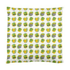St Patrick S Day Background Symbols Standard Cushion Case (Two Sides)