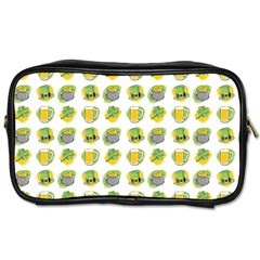 St Patrick S Day Background Symbols Toiletries Bags 2-Side