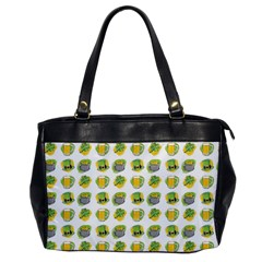 St Patrick S Day Background Symbols Office Handbags
