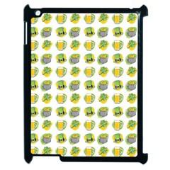 St Patrick S Day Background Symbols Apple iPad 2 Case (Black)