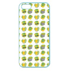 St Patrick S Day Background Symbols Apple Seamless iPhone 5 Case (Color)