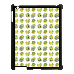 St Patrick S Day Background Symbols Apple Ipad 3/4 Case (black)