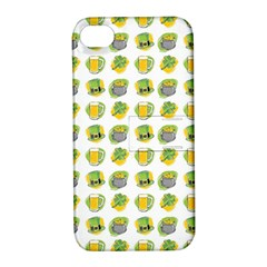St Patrick S Day Background Symbols Apple Iphone 4/4s Hardshell Case With Stand