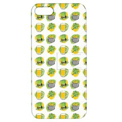 St Patrick S Day Background Symbols Apple Iphone 5 Hardshell Case With Stand
