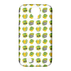 St Patrick S Day Background Symbols Samsung Galaxy S4 Classic Hardshell Case (pc+silicone)