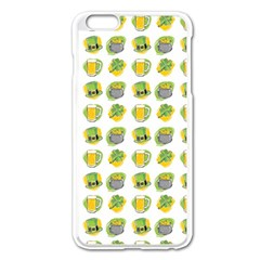 St Patrick S Day Background Symbols Apple Iphone 6 Plus/6s Plus Enamel White Case