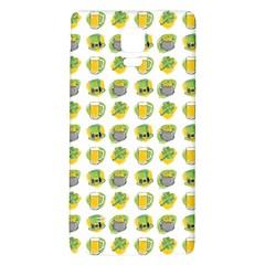 St Patrick S Day Background Symbols Galaxy Note 4 Back Case