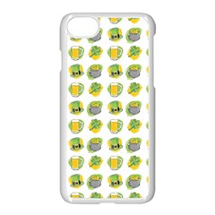 St Patrick S Day Background Symbols Apple Iphone 7 Seamless Case (white)