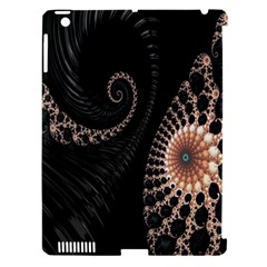 Fractal Black Pearl Abstract Art Apple Ipad 3/4 Hardshell Case (compatible With Smart Cover)
