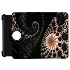 Fractal Black Pearl Abstract Art Kindle Fire Hd 7