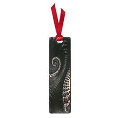 Fractal Black Pearl Abstract Art Small Book Marks