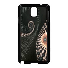 Fractal Black Pearl Abstract Art Samsung Galaxy Note 3 Neo Hardshell Case (black)