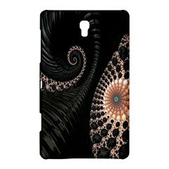 Fractal Black Pearl Abstract Art Samsung Galaxy Tab S (8.4 ) Hardshell Case