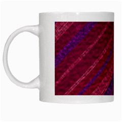 Stripes Course Texture Background White Mugs
