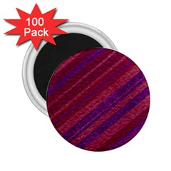 Stripes Course Texture Background 2 25  Magnets (100 Pack)