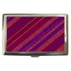 Stripes Course Texture Background Cigarette Money Cases
