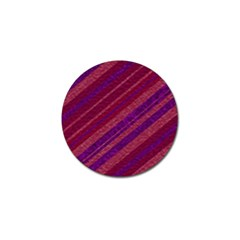 Stripes Course Texture Background Golf Ball Marker