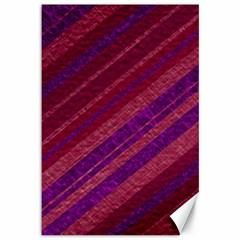 Stripes Course Texture Background Canvas 12  x 18