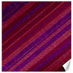 Stripes Course Texture Background Canvas 16  X 16