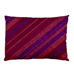 Stripes Course Texture Background Pillow Case