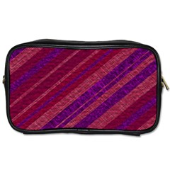 Stripes Course Texture Background Toiletries Bags 2 Side