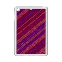 Stripes Course Texture Background Ipad Mini 2 Enamel Coated Cases