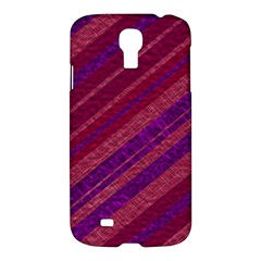 Stripes Course Texture Background Samsung Galaxy S4 I9500/i9505 Hardshell Case