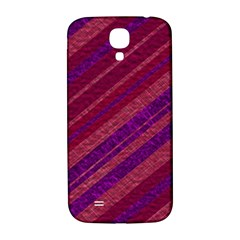Stripes Course Texture Background Samsung Galaxy S4 I9500/I9505  Hardshell Back Case