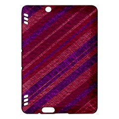 Stripes Course Texture Background Kindle Fire HDX Hardshell Case