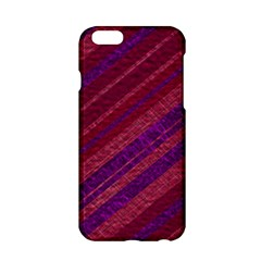 Stripes Course Texture Background Apple iPhone 6/6S Hardshell Case