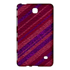 Stripes Course Texture Background Samsung Galaxy Tab 4 (7 ) Hardshell Case