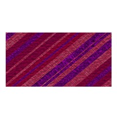 Stripes Course Texture Background Satin Shawl