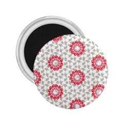 Stamping Pattern Fashion Background 2.25  Magnets
