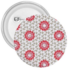 Stamping Pattern Fashion Background 3  Buttons
