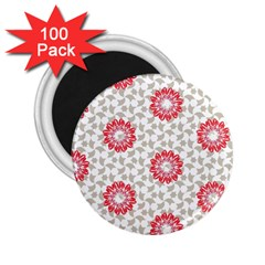 Stamping Pattern Fashion Background 2 25  Magnets (100 Pack)