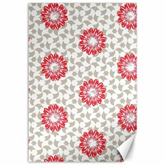 Stamping Pattern Fashion Background Canvas 12  x 18