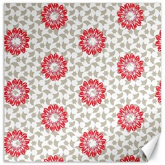Stamping Pattern Fashion Background Canvas 16  x 16