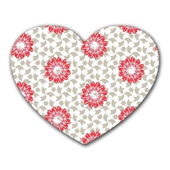 Stamping Pattern Fashion Background Heart Mousepads