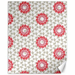 Stamping Pattern Fashion Background Canvas 11  x 14