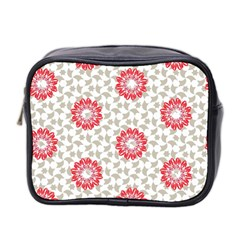 Stamping Pattern Fashion Background Mini Toiletries Bag 2-Side