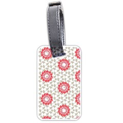 Stamping Pattern Fashion Background Luggage Tags (two Sides)