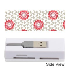 Stamping Pattern Fashion Background Memory Card Reader (Stick)